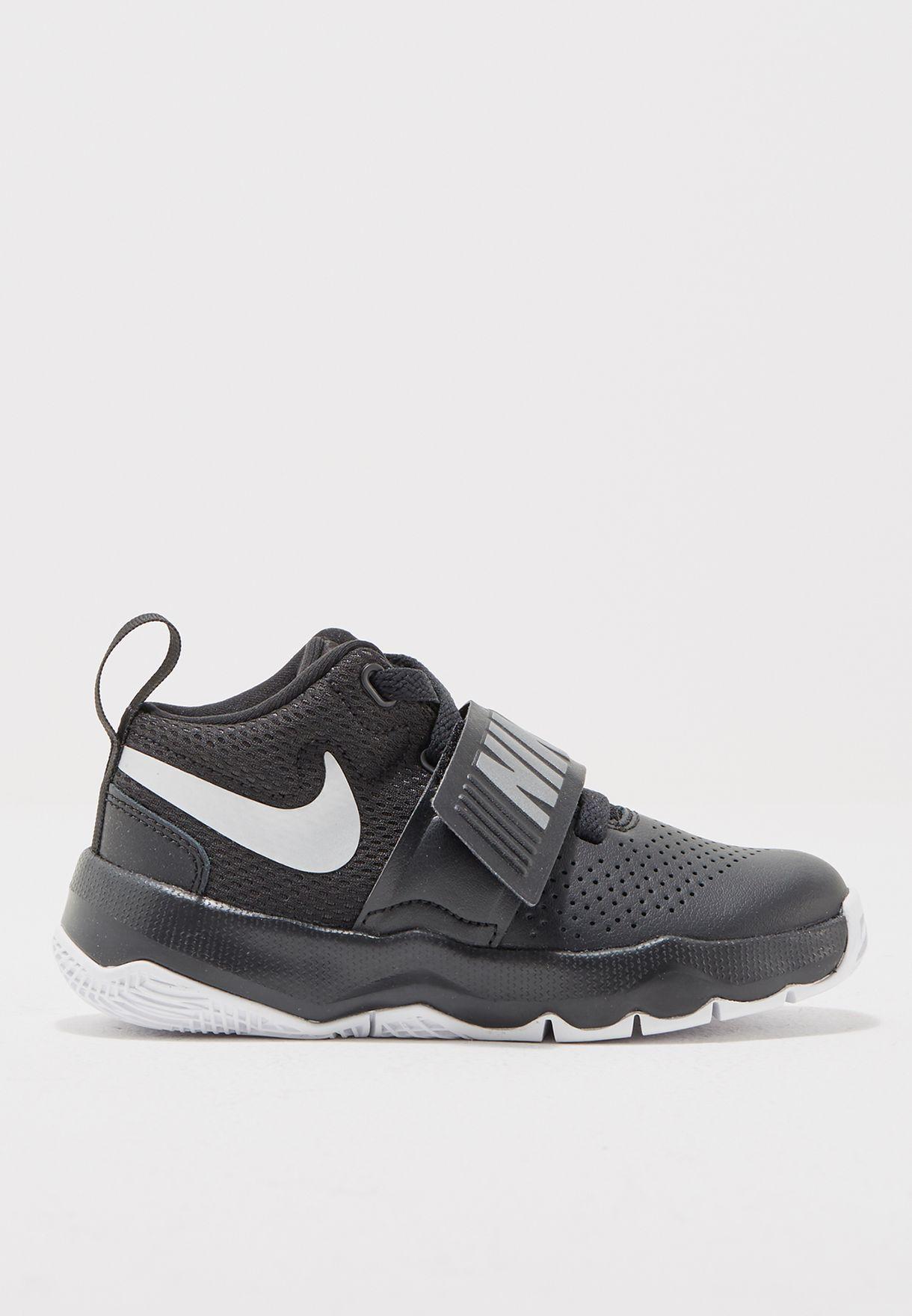 a43c94436 تسوق حذاء تيم هسل دي 8 للأطفال ماركة نايك لون أسود 881942-001 في ...