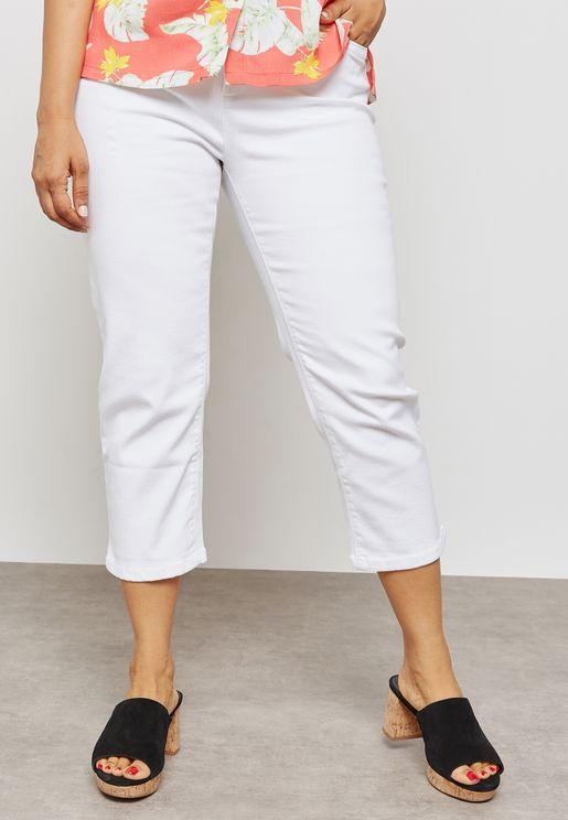 بنطال جينز قصير