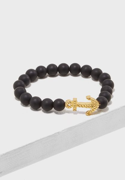 Anchor Bead Bracelet