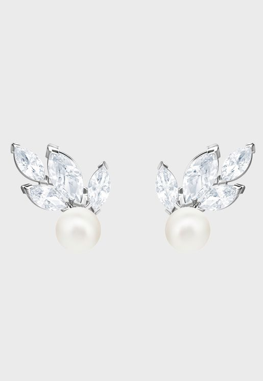 Louison Pearl Pierced Stud Earrings