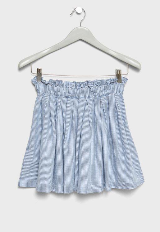 Teen Frill Detail Skirt