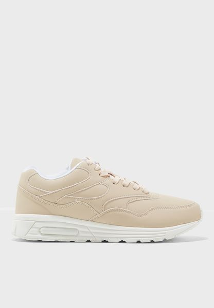 Morsecode Lace Up Sneaker