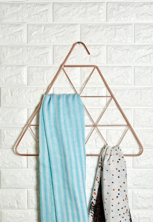 Pendant Triangle Scarf Holder