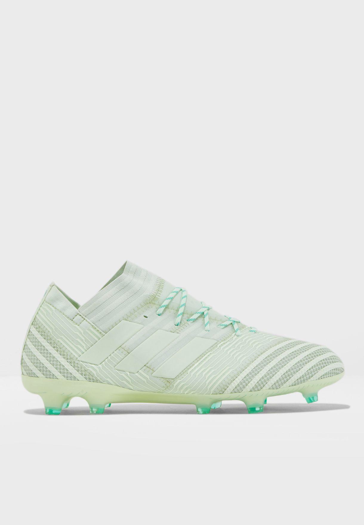 0ce77139c5e7 Shop adidas green Nemeziz 17.1 FG CP8935 for Men in UAE - AD476SH31URK