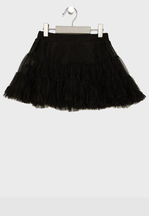 Little Ruffled Tutu Skirt