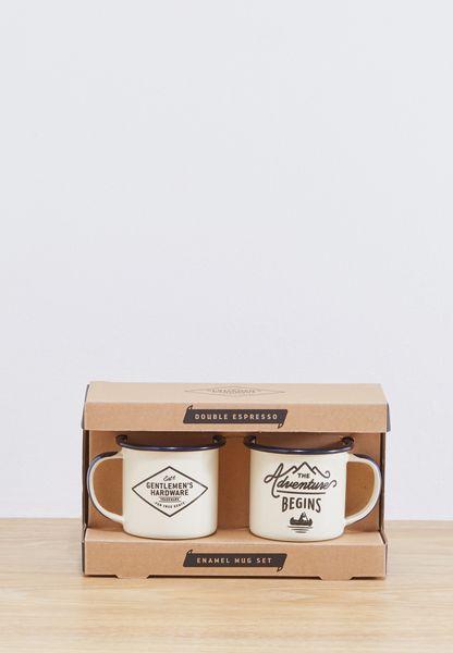 Enamel Espresso Set