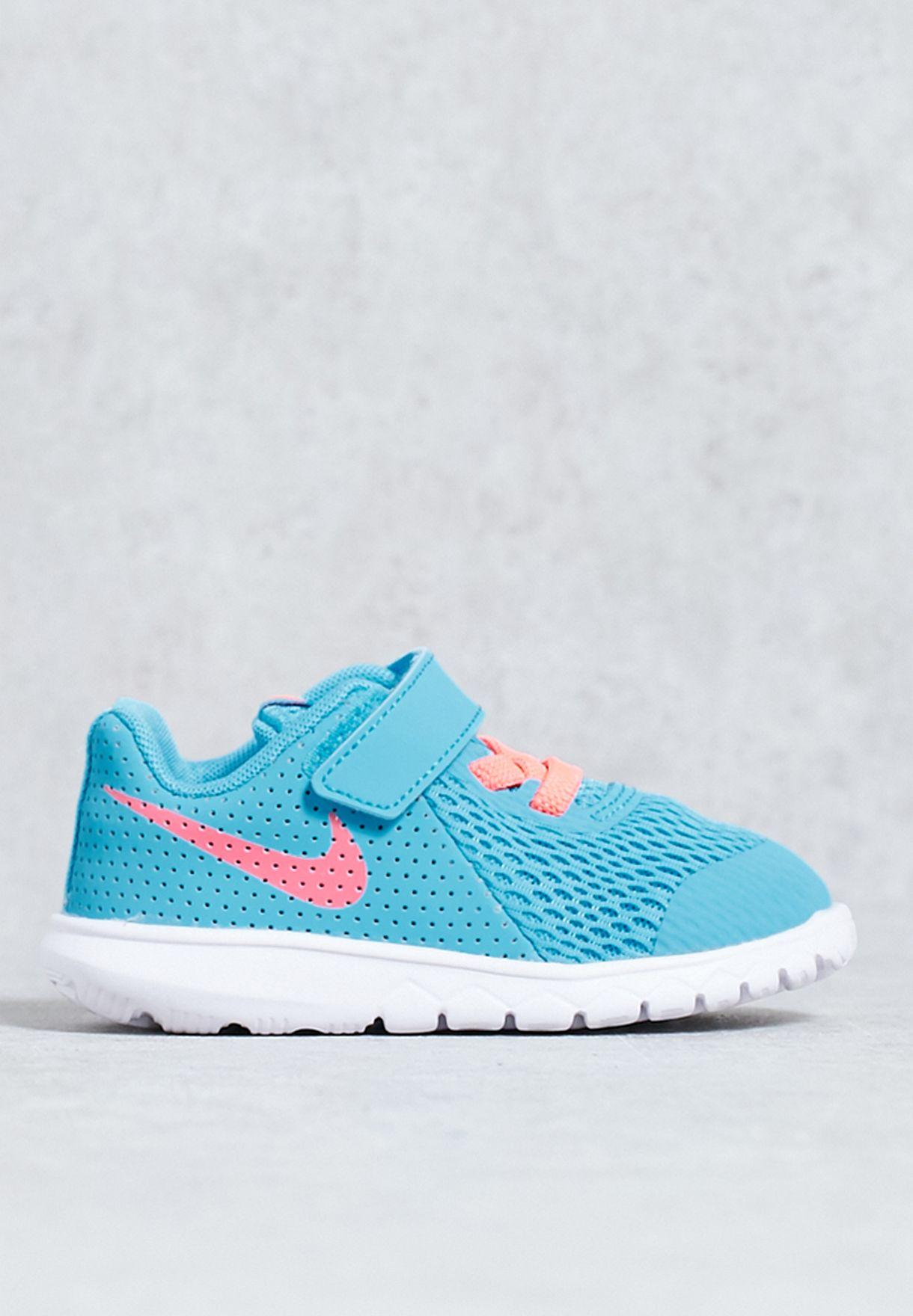 691d77d4dff5c Shop Nike blue Flex Experience 5 Infant 844993-403 for Kids in Qatar ...