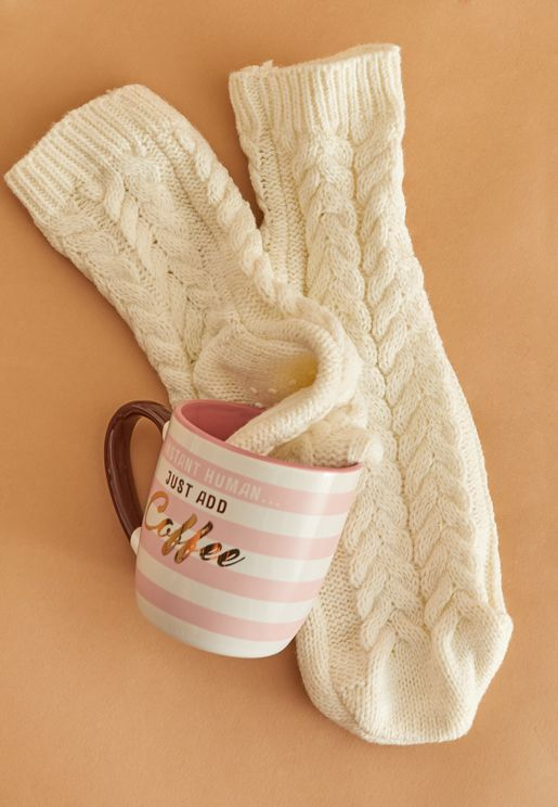 Mug and Cozy Socks Set