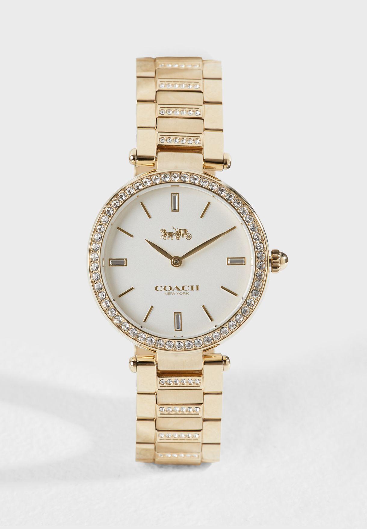 086d18470e1d Shop Coach gold Park Watch 14503093 for Women in UAE - CO392AC31AUY