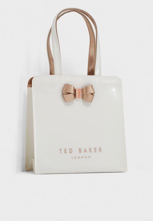 Bow Detail Small Shopper Bag