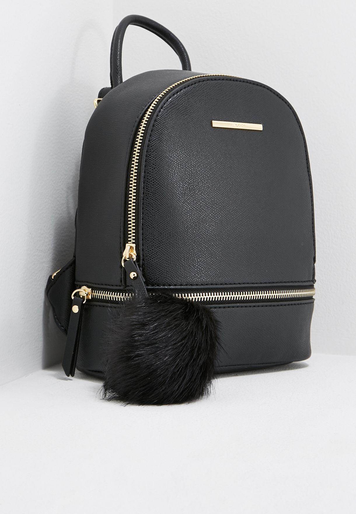 7c0817e40477 Shop Aldo black Mini Parma Backpack PARMA98 for Women in UAE ...
