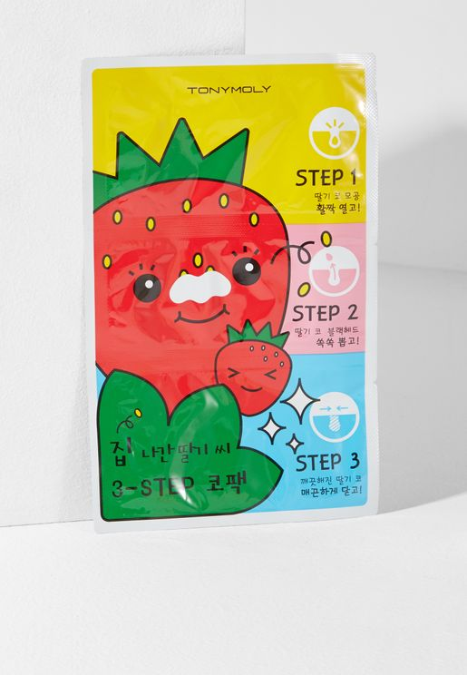 Runaway Strawberry Seeds Nose Pack