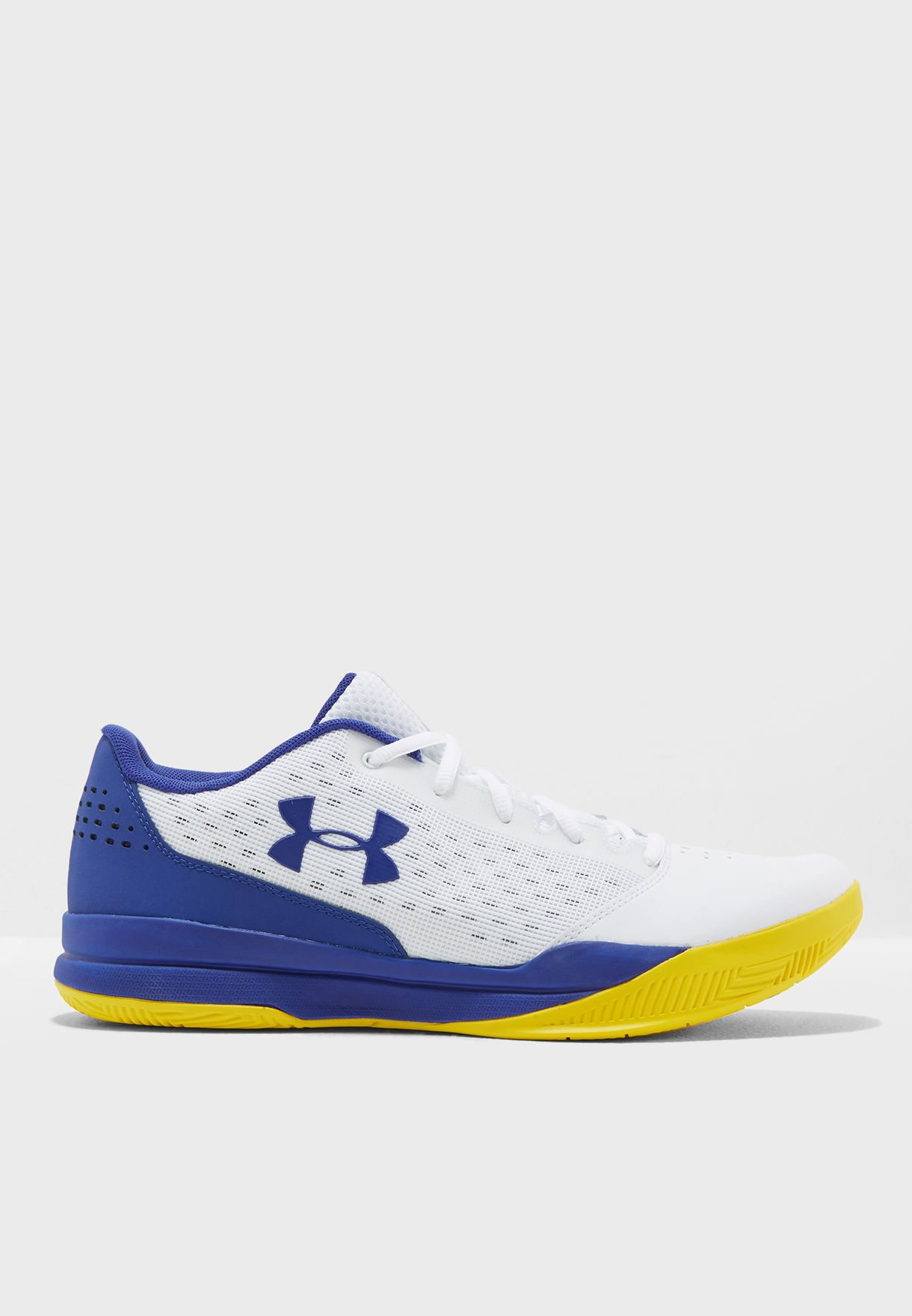 9f83a6473df Shop Under Armour white Jet 2017 Low 3020254-101 for Men in UAE ...