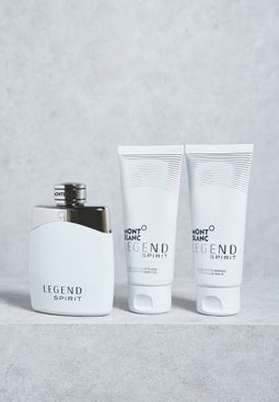 Legend Spirit 100ml EDT + Balm + Shower Gel Set