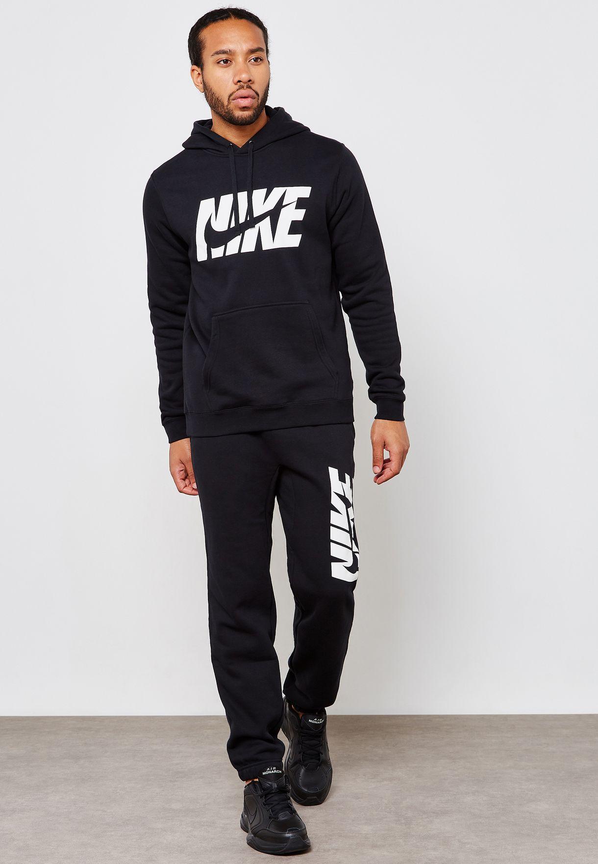 0c8f5f1f9870 Shop Nike black NSW Fleece Tracksuit AR1341-010 for Men in UAE ...