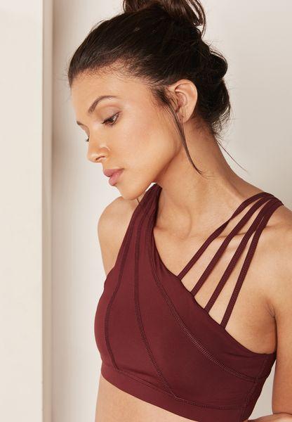 Strive Strappy Shoulder Bra