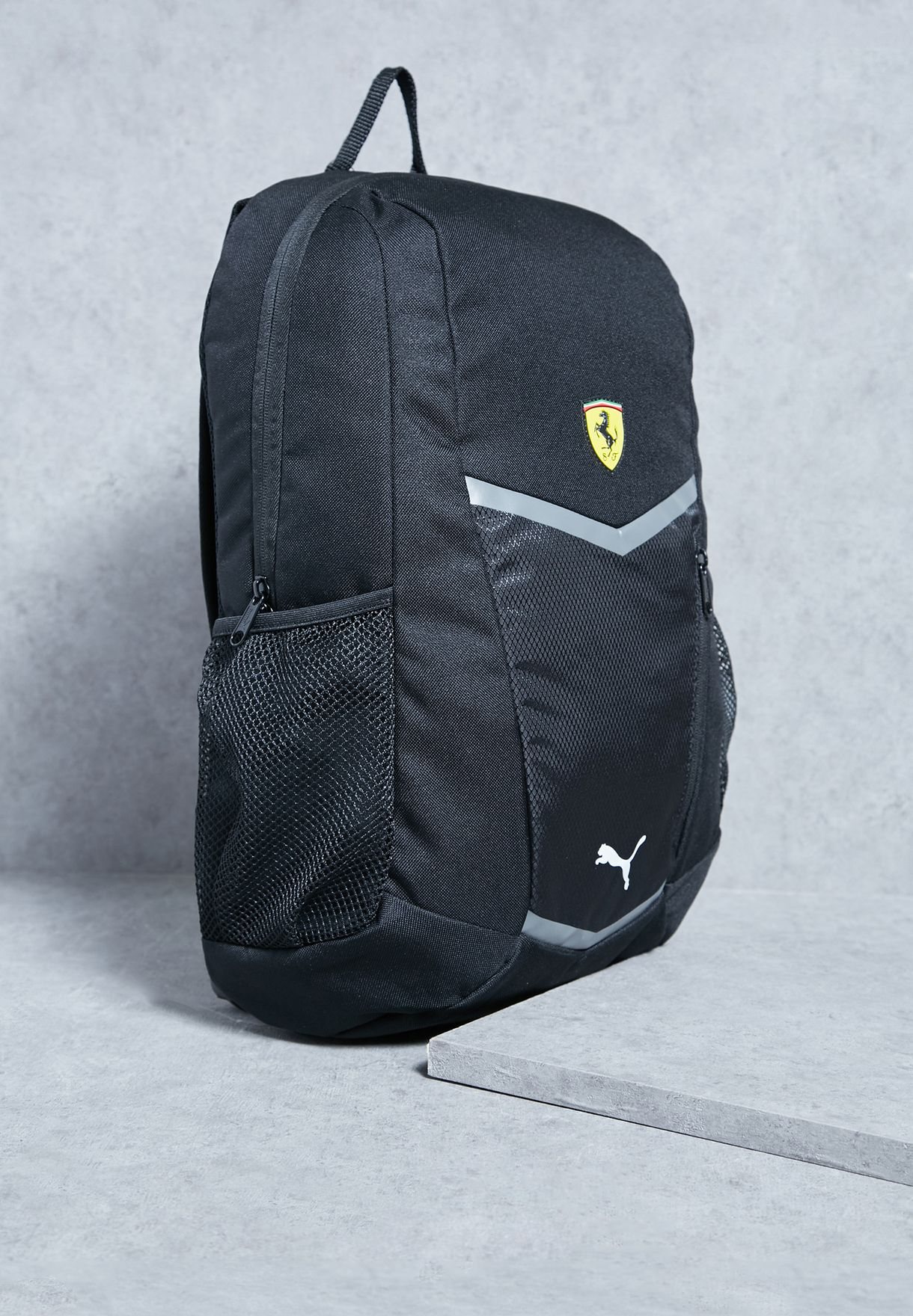 Shop PUMA black Ferrari Fanwear Backpack 07449902 for Men in UAE ... 9bc52c7339017