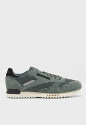 2edc8a499a2c0 Shop Reebok green CL Leather Ripple Sn BS9788 for Men in Globally -  RE019SH31XXC