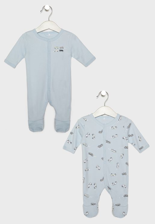 Infant 2 Pack Printed Bodysuit
