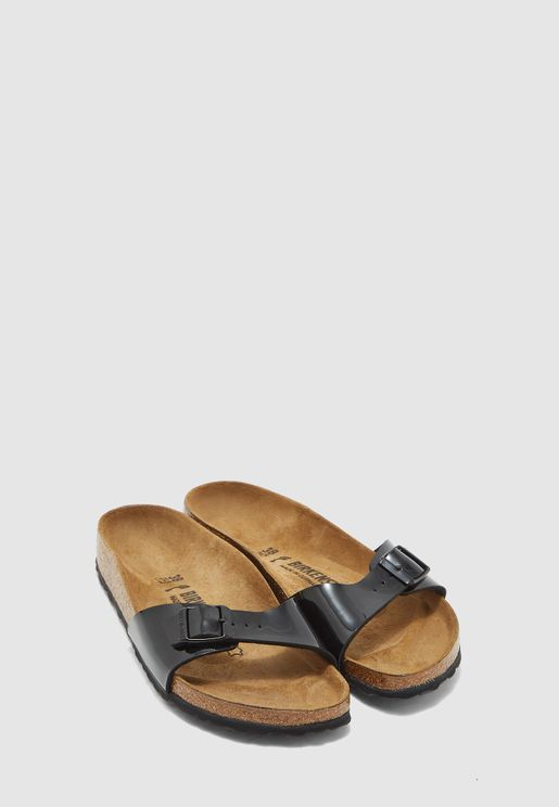 One Strap Buckle Sandal
