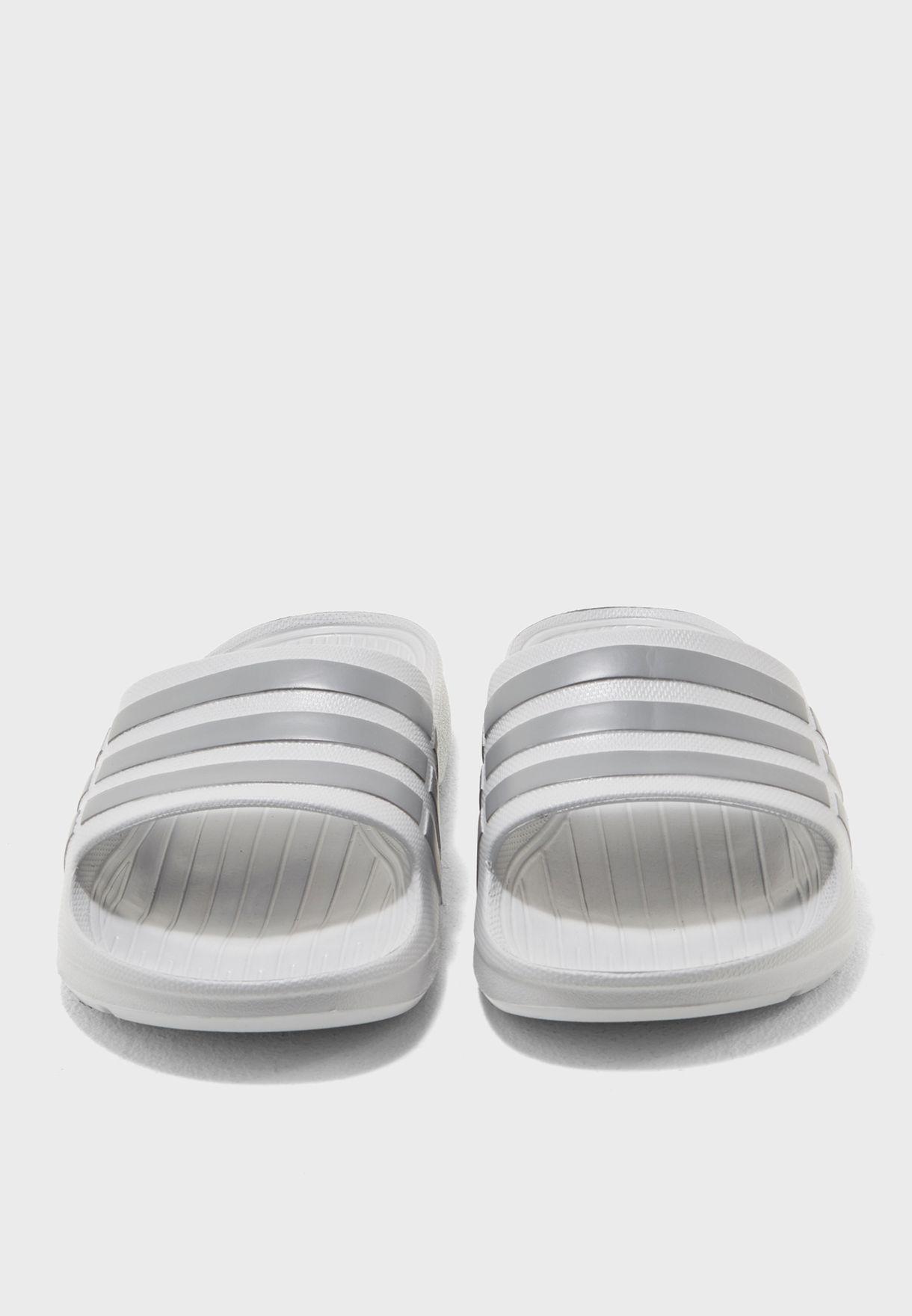 d52a79bc9a54 Shop adidas grey Duramo Slide B44298 for Men in UAE - AD476SH31BFS