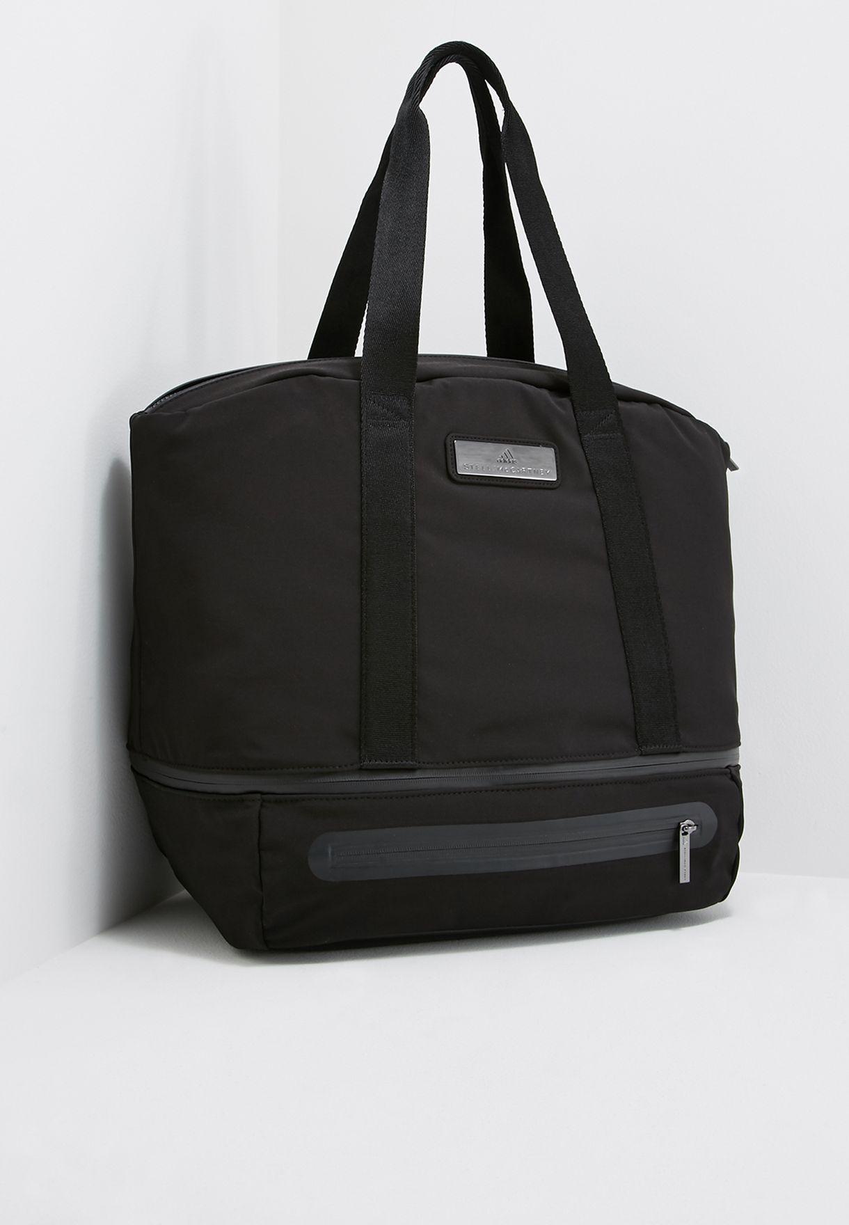 2f7a6f7988 Shop adidas by Stella McCartney black Large Iconic Bag CE2492 for Women in  Qatar - AD399AC31IFO