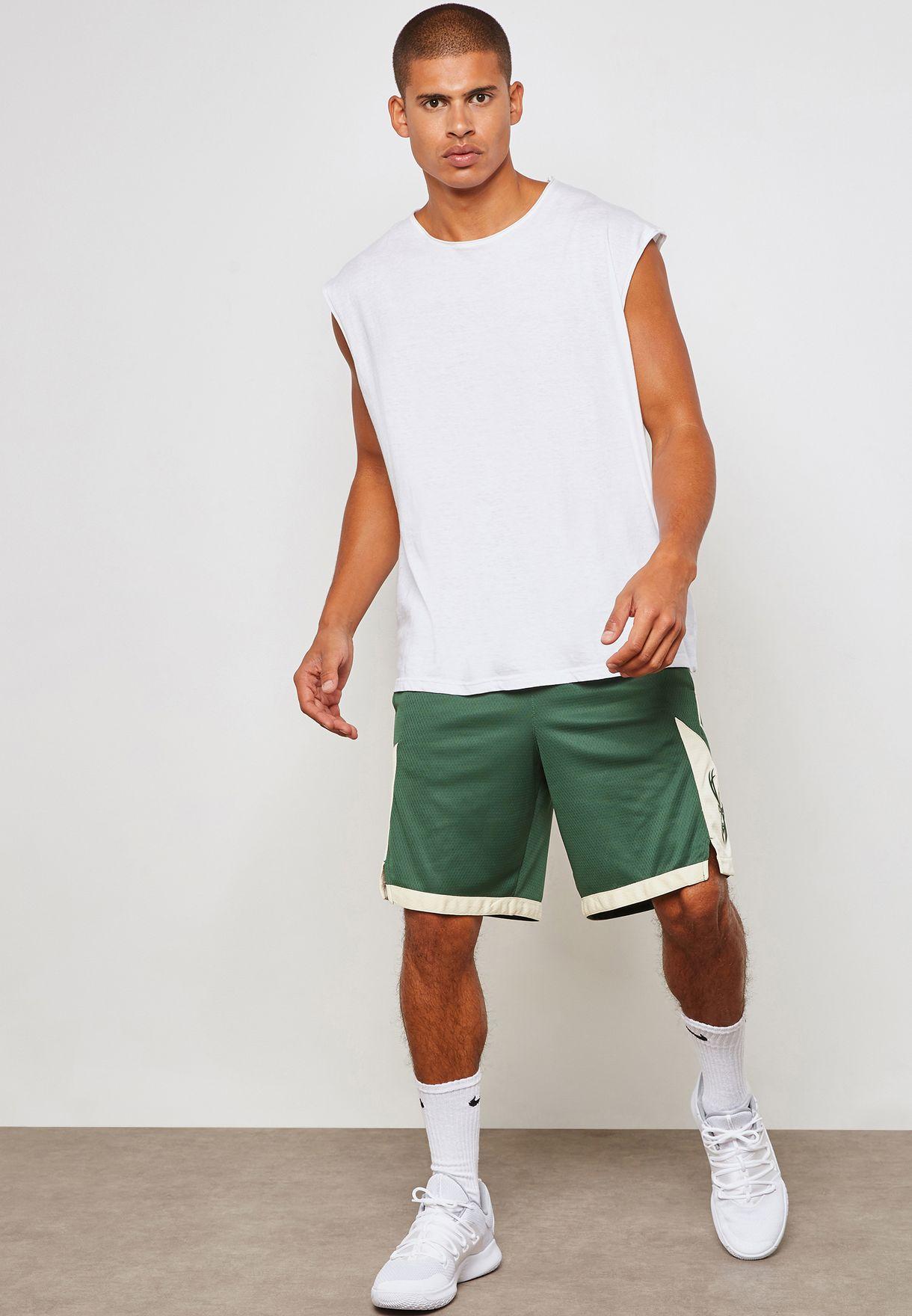 Milwaukee Bucks Swingman Road Shorts