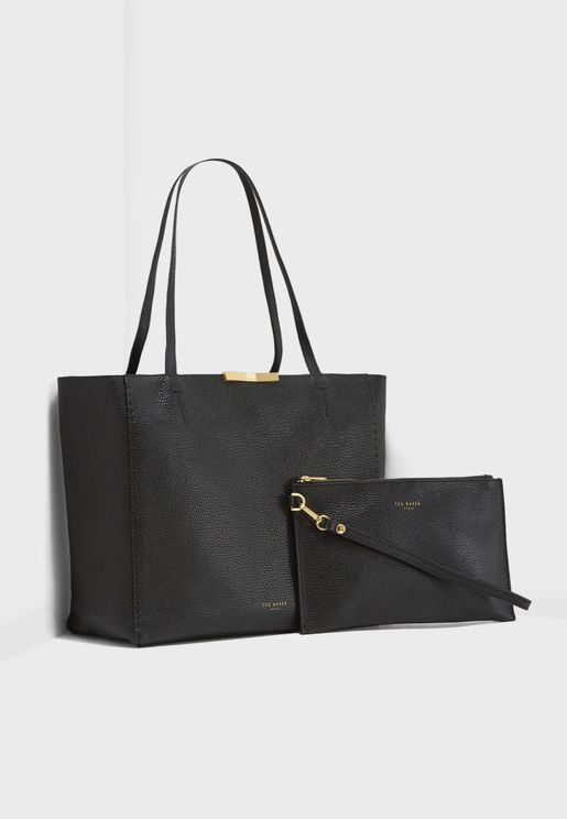 Caullie Bow Detail Shopper