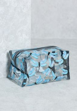 Dragonfly Make Up Bag