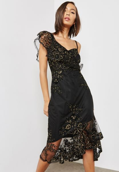 Mermaid Midi Dress