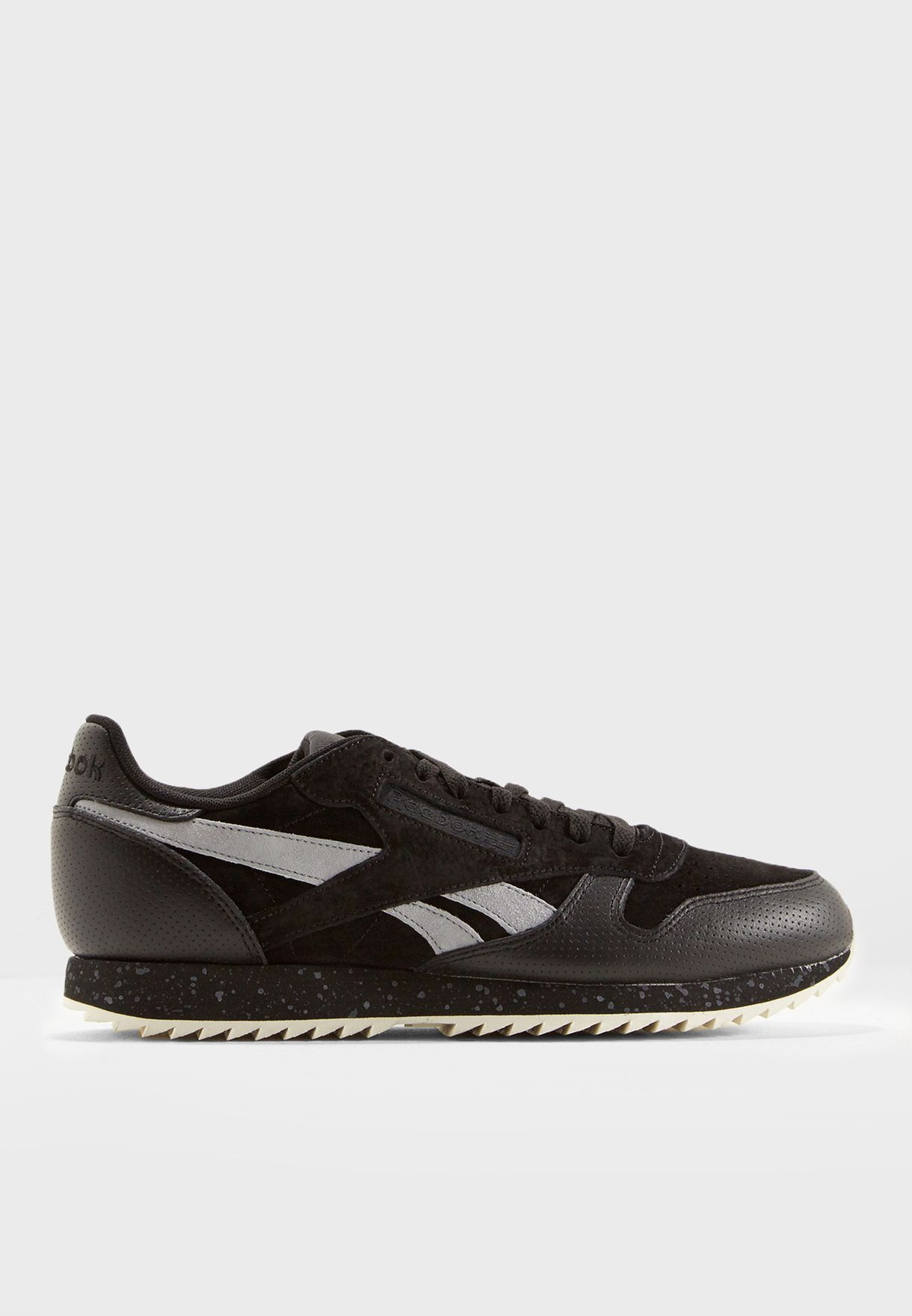 ab5a6ce3190345 Shop Reebok black CL Leather Ripple SM BS9726 for Men in Bahrain -  RE019SH31KKE