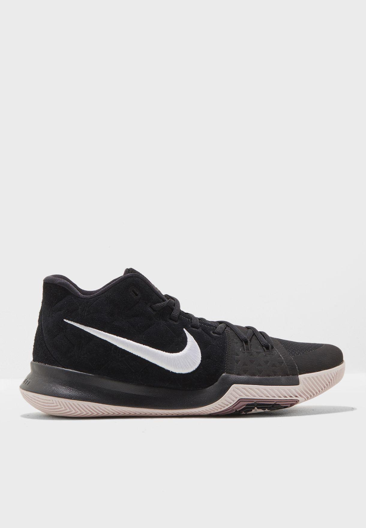 5b79676a3bc6 Shop Nike black Kyrie 3 852395-010 for Men in UAE - NI727SH31EMI