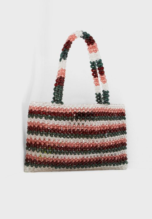 Sandra Beaded Bag