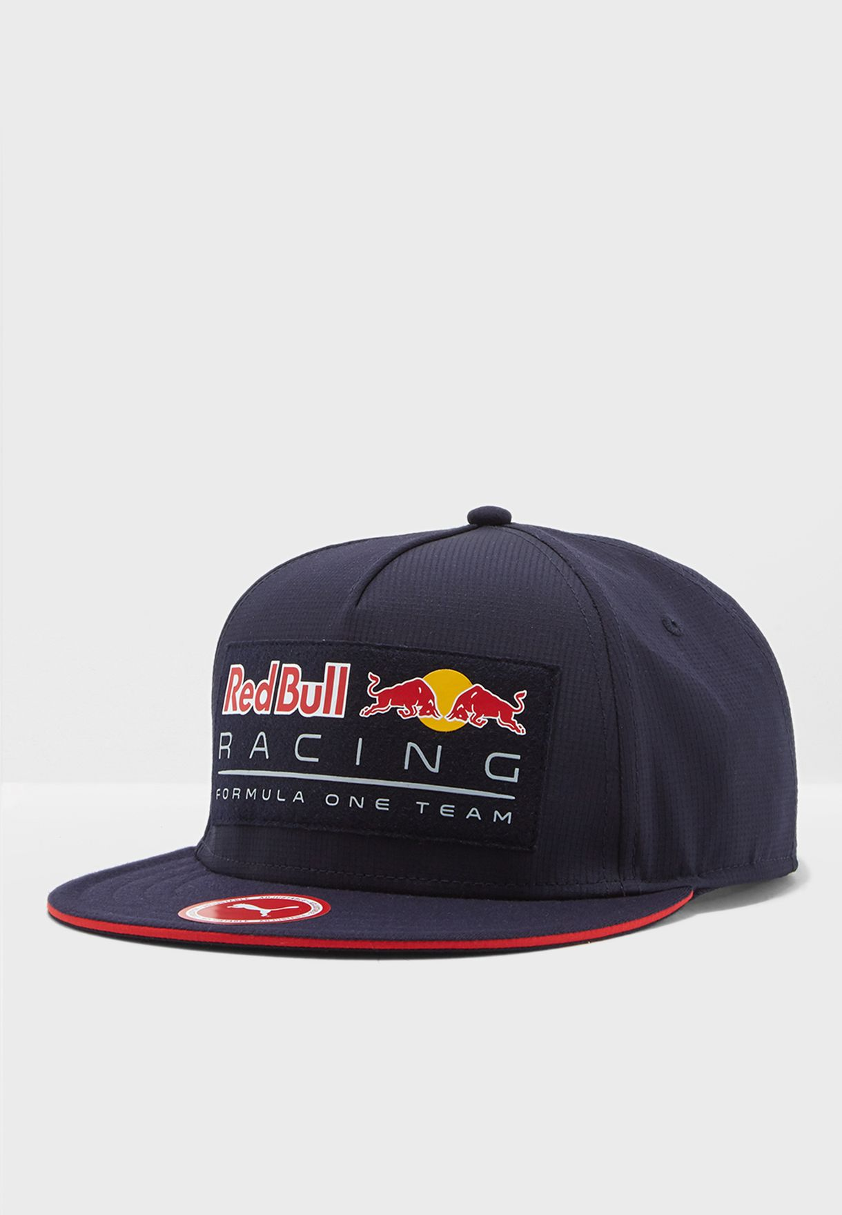 10b059d8d22 Shop PUMA navy Red Bull Racing Flatbrim Cap 2152401 for Men in UAE ...