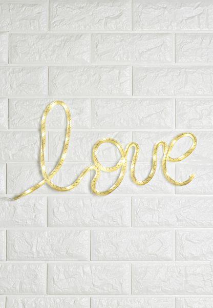 Love Initial LED Light