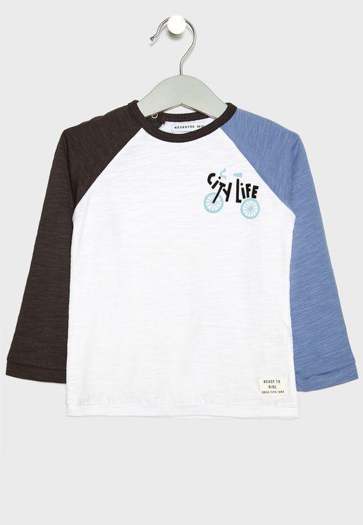 Infant Raglan Sleeves T-Shirt