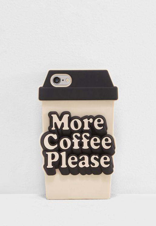 More Coffee Please iphone Case