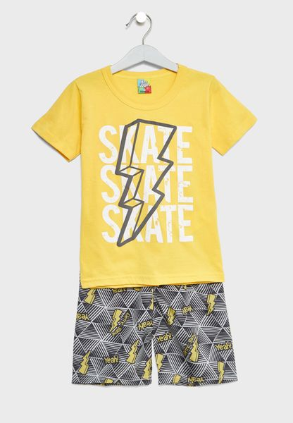 Little T-Shirt + Shorts Set