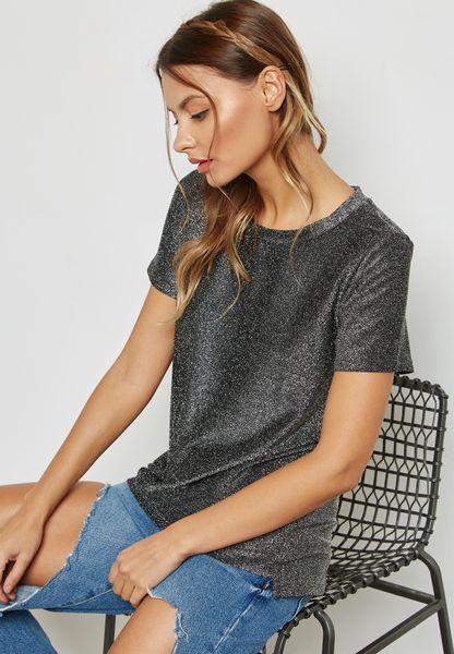 Metallic T- Shirt