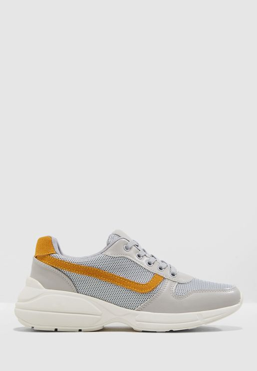 Chunky Colourblock Sneaker
