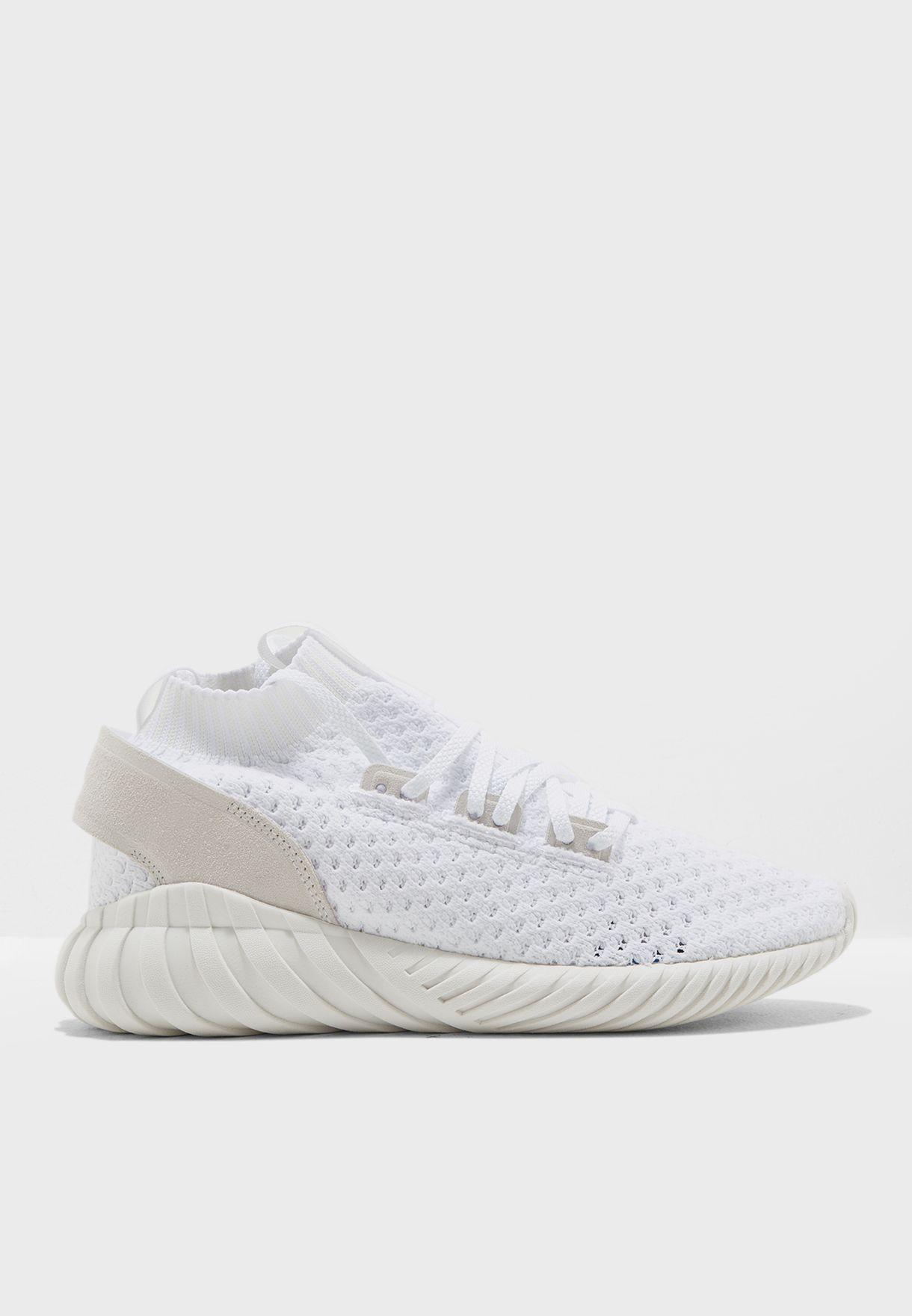 Shop adidas Originals white Tubular Doom Sock CQ2481 for Women in Oman -  AD478SH21MIO 9863296455b7