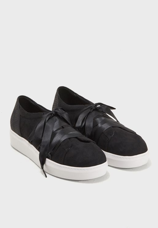 Flatform Lace Up Sneaker