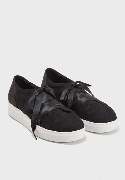 Flatform Lace Up Sneaker