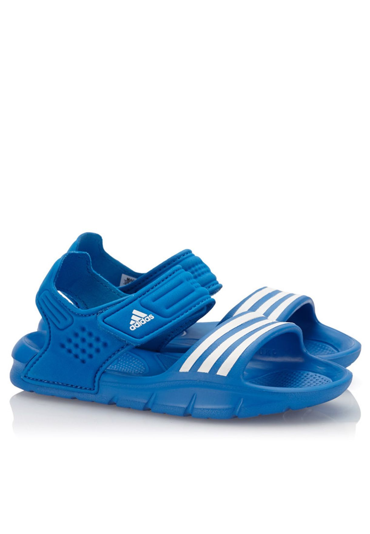 b54de5a8ba66e Shop adidas blue Akwah 8 Sandal D65919 for Kids in Oman - AD476SH21NHE