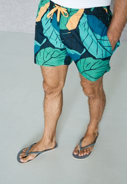 Leaf Swim Short