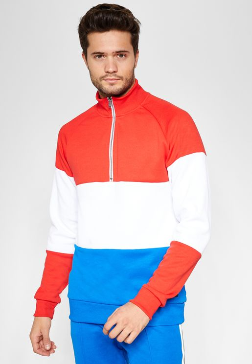 William Colorblock Track Jacket