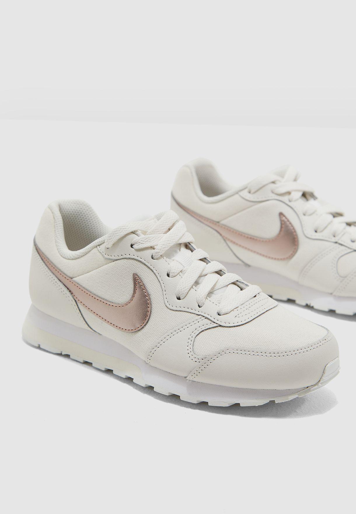 48943ce9d0e8e Shop Nike white Youth MD Runner 2 807319-016 for Kids in UAE ...