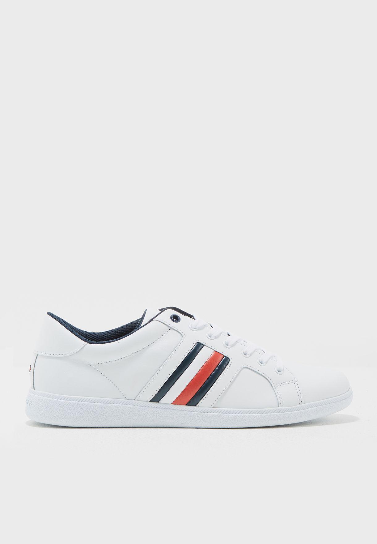 7bb0630e57792e Shop Tommy Hilfiger white Danny Sneaker FM0FM00728100 for Men in UAE ...