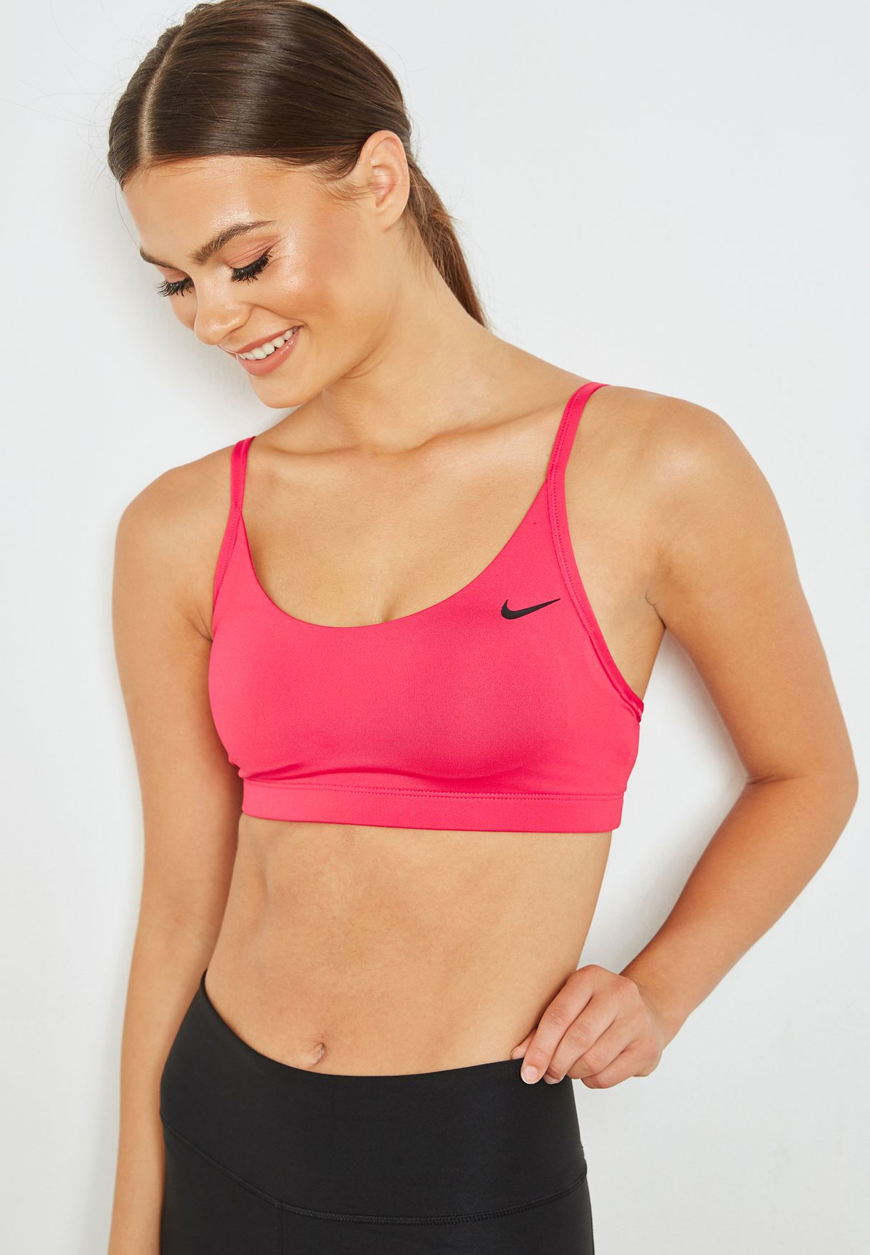 42f5527e4c39c Shop Nike pink Victory Favorites Strappy Bra 924815-666 for Women in Kuwait  - NI727AT21WJY