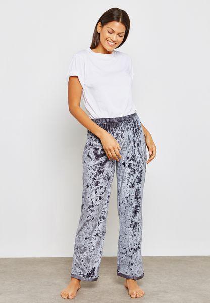 Velvet Pyjama Bottoms